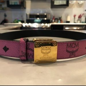 Authentic MCM women's belt
